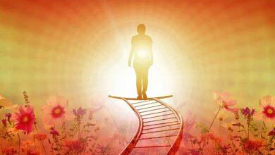 La escalera a la iluminación
