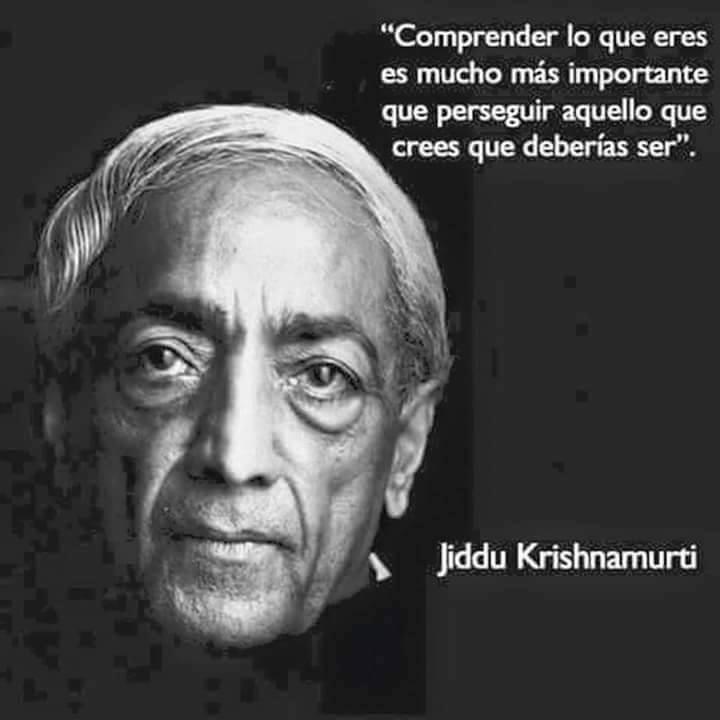 Reflexiones de Krishnamurti