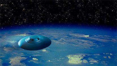 Increíble nave alienígena